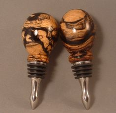 Wood & Antler Bottle Stoppers - Rescued Firewood Handcrafted Pens & More