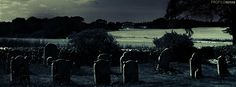 Dark Cemetery Facebook Cover - Spooky Halloween Images - Spooky Halloween Pictures Preview