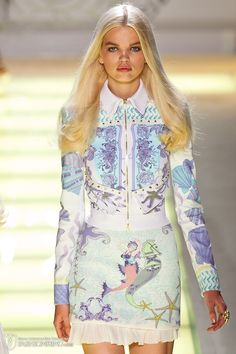 Versace spring / summer 2012