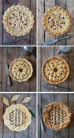 Indulge in these perfect pies by food artist Karin Pfeiff Boschek.