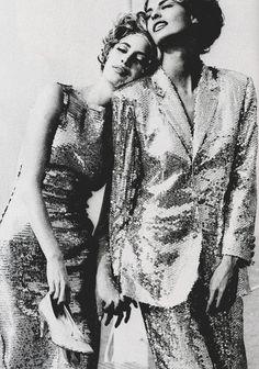 "Vogue Italia July/August 1990""The Sisters""Models: Christy Turlington &  Linda EvangelistaPhotographer: Ellen von Unwerth"
