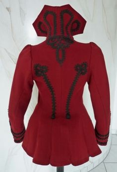 Victorian jacket with braiding 1898