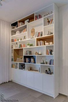 25 trendy home office furniture wall units Living Room Bookcase, Living Room Storage, Home Living Room, Living Room Designs, Home Library Design, Home Office Design, Bookshelf Design, Bookshelves, Trendy Home