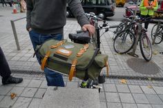 Some interesting luggage photographed at the BWC and pre-ride last October (2009). I lost the notes I made on the day so if anybody can tell me about suppliers or the names of the stylish Bromptoni…