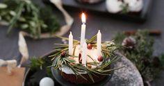 Fräulein Klein : gebackene Glühwein-Donuts Christmas Love, Xmas, Donuts, Christmas Cheesecake, Cheesecake Cake, Cake Cookies, Pastries, Birthday Candles, Spirit