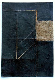 Texture by Bastiano //midnight blue Collages, Collage Art, Art Blanc, Modern Art, Contemporary Art, Monochrom, Art Plastique, Medium Art, Textures Patterns