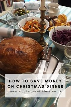Try these tips to save loads on festive food that tastes great! Christmas may be different this year, but you don't need to spend a bomb. All part of the #SaveChristmasShareSkills campaign with the Nottingham Building Society. #Christmasdinner #festivefood #Christmaslunch #moneysaving #Xmastips #homemade #Christmascooking #christmasfood #christmas2020 #xmas2020 #Xmasdinner #thriftyChristmas #budgetChristmas #frugalchristmas Christmas Lunch, Christmas On A Budget, Christmas Cooking, Building Society, Xmas Dinner, Frugal Tips, Food Festival, Nottingham, Money Saving Tips