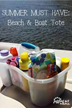 Beach Trip Discover Summer Essentials: Make your own Beach & Boat Tote - Juggling Act Mama Successful summer travel starts at home with being prepared! Put together a Beach and Boat Tote to take with you with all your summer essentials. Camping Life, Camping Hacks, Camping Ideas, Beach Camping Tips, Camping Cot, Camping Hammock, Camping Trailers, Outdoor Camping, Camping Must Haves