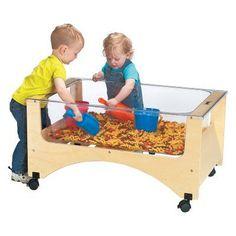 Jonti-Craft See-Thru Sand-N-Water Table - 2871JC, Durable