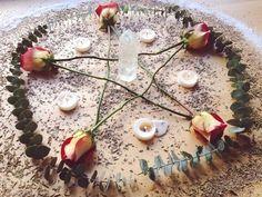 Pentagram roses