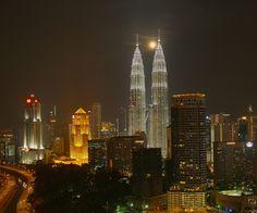 Torres Petronas de Kuala Lumpur, en Malasia. TL Chua