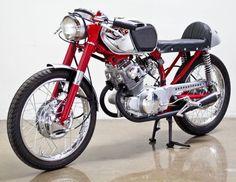 1966 Honda CB160 Poco Poco Bastardo replica