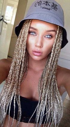 Three Ways to Bling Out Your Box Braids With Jewelry Box