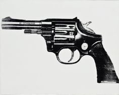 Gun - Andy  Warhol - Revolver Gallery, you can see more at: http://archesart.co.uk/Works/viewPrint/MTQyMDE=