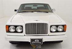 Bentley Eight Sedan / Saloon 1987 White Car for Sale. Rolls Royce Silver Spirit, Bentley Models, 500 Miles, Aluminum Rims, Eight, Automatic Transmission, Cars For Sale, Classic Cars, Wheels