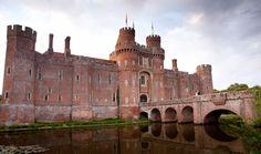 Herstmonceux Castle - Romantic Wedding Venues