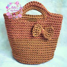 #Crochet #Totebag #Ropebag #Crochethandbag #Crochetropebag #Gift #handmade #bellascozydreams #fashionbag