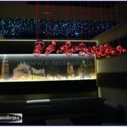 ceiling lighting in the living room - oświetlenie sufitowe w salonie e-technologia
