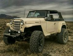 Jeep Willys, Willys Wagon, Jeep Cj, Vintage Jeep, Vintage Trucks, Cool Jeeps, Cool Trucks, Jeep Pickup Truck, Jeepster Commando