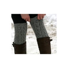 FO Lace Legwarmers ❤ liked on Polyvore