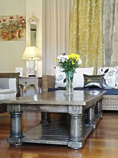 Solid oak coffee table | Chelsea and Home Country Furniture, Funky Furniture, Solid Oak Coffee Table, Town And Country, Entryway Tables, Chelsea, Home Decor, Rustic Furniture, Decoration Home
