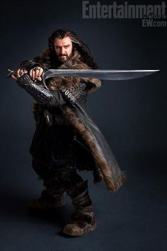"""Even as the dwarf, Thorin Oakenshield, Richard Armitage has got it going ON! ""....I'm glad I'm not the only one who thought so lol"