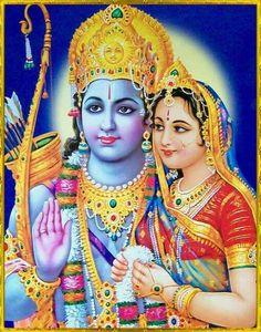Shree Ram and Sita Hanuman Hd Wallpaper, Lord Vishnu Wallpapers, Ram Navami Images, Fixing Marriage, Rama Lord, Lord Rama Images, Sita Ram, Religious Rituals, Krishna Pictures