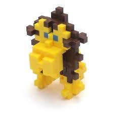 Byg hvad som helst med Plus Plus Mini brikkerne. Her ses en sød abe. Køb brikkerne på Nikostine.dk #plusplus #plusplusmini Billedet er lånt herfra: http://thetoadstool.co.uk/shop-by-brand/plus-plus-building-sets.html