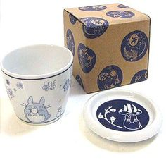 1 left - Cup & Lid / Plate - Ceramics - microwave & oven - ume - Totoro - 2012 - no production (new)