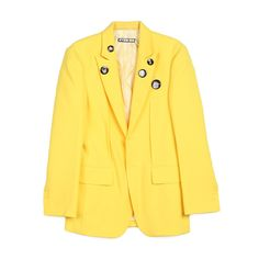 Suit Jacket with Badges | Hyein Seo
