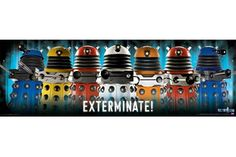 Dalek Exterminate! - Doctor Who Poster (Brother #4)