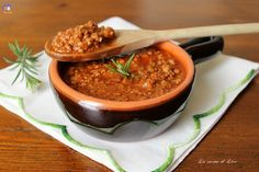 Italian Recipes, Couscous, Salsa, Food And Drink, Mousse, Ethnic Recipes, Pasta Fillo, Dolce, Pesto
