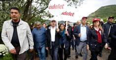 On the Road With Protesters Marching Across Turkey to Condemn Erdogan's Purge - The New York Times