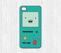Adventure time bmo iPhone 4 Case,Adventure time Beemo iPhone 4 4g 4s Hard Case,cover skin case for iphone 4/4g/4s case,More styles. $5.99, via Etsy.