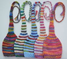 hand-knitted