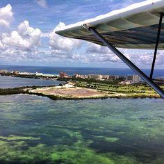 2 Engine Ultralight flight @ Cancun