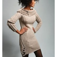 Vogue Knitting dress... still so tempted to make this.