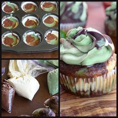 More Camo cupcakes! Where was all of this a couple weeks ago? Baking Cupcakes, Cupcake Recipes, Cupcake Cakes, Dessert Recipes, Cupcake Ideas, Cupcake Pictures, Cup Cakes, No Bake Treats, Yummy Treats