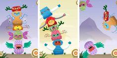 Dopo Professor Astro Gatto e Artie, lo sviluppatore britannico Minilab pubblica TotemUp, il classico gioco delle torri trasferito in digitale: i bambini devono costruire un totem impilando una sull'altra piccole creature mostruose e possono poi divertirsi a distruggerlo.