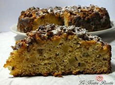 Our Recipes: cake with ricotta cheese and amaretti apples