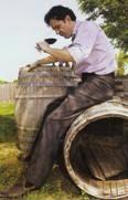 """biodynamic wine like Vin de Pays des Coteaux de l'Ardeche, La Selve """"Palissaire"""" 2008"""