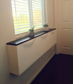 Saved. Possible idea for end if bed storage guest room? Master?  IKEA Trones shoe cabinet DIY hack