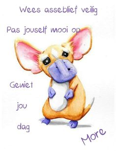 Goeie More, Afrikaans Quotes, Good Morning Wishes, Love You More, Happy Life, Winnie The Pooh, Disney Characters, Fictional Characters, Teddy Bear