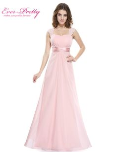 Long Simple Bridesmaid Dresses 2017 New Arrival Ever Pretty EP08834 Long  Chiffon Cheap Wedding Party Dresses 4d5f045eaad8