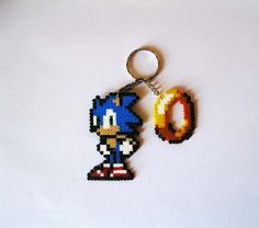 "Sonic the Hedgehog keyrings / Llaveros""16bits"", €3.95 https://www.etsy.com/es/listing/171045229/llaveros-sonic-the-hedgehog-16bits #videogames #videojuegos #sonic #freak #friki #geek #sega #genesis #megadrive #mastersystem #retro"