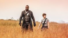 The trailer for The Dark Tower dropped early this morning, giving us our first glimpse of the long-awaited adaptation of Stephen King's epic series. But this film isn't your typical adaptation,. The Dark Tower 2017, Dark Tower Movie, The Dark Tower Series, Stephen Kings, Stephen King Film, Jerome Flynn, Michael Rooker, Idris Elba, New Movies