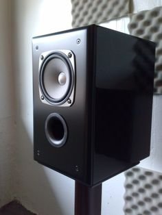 A fabulous speaker crafted by my brother's speaker shop.