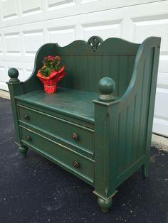Dresser & bed bench