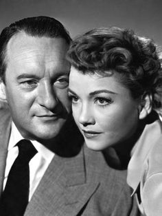 George Sanders and Anne Baxter All About Eve 1950 Anne Baxter, Old Hollywood Glamour, Golden Age Of Hollywood, Hollywood Stars, Classic Hollywood, Hollywood Couples, Vintage Hollywood, Judy Holliday, Harry Belafonte
