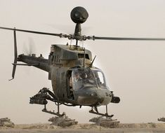 US Army Bell OH-58 Kiowa. Observation,utility & direct fire support helicopter.